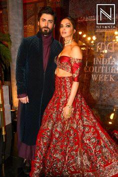 deepika padukone and fawad khan for india couture week 2016 Pakistani Formal Dresses, Pakistani Wedding Outfits, Indian Bridal Outfits, Pakistani Bridal, Bridal Lehenga, Indian Dresses, Wedding Attire, Wedding Dress, Bollywood Stars