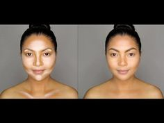 ▶ How to: Contour and Highlight Your Face - YouTube