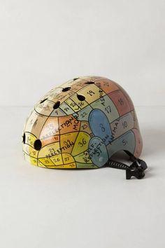 Bicicletas e acessórios lindos para pedalar por aí - capacetes