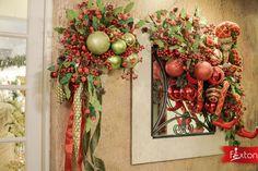 Guirnalda para decorar espejos inspirada en los amantes de la tradición en su más pura expresión. 🎅  www.fexton.com Christmas Wreaths, Holiday Decor, Home Decor, Decorative Mirrors, Garlands, Christmas Themes, Expressionism, Lovers, Decoration Home