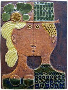 Stig Lindberg Ceramic Plaques