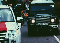 Beauty and the beast #bluemaroons #parade #2k16 #jeeps  #mitsubishi #bae #landroverdefender #photography by ra.vee.n Beauty and the beast #bluemaroons #parade #2k16 #jeeps  #mitsubishi #bae #landroverdefender #photography