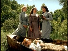 Lady of Shalott, as portrayed by the always suprising Anne Shirley of Green Gables...