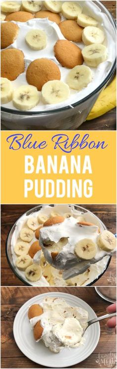 Blue Ribbon Banana Pudding Recipe - Family Fresh Meals Recipe