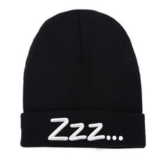 Zzzzzz..... http://shop.nylonmag.com/collections/whats-new/products/zzz-beanie #NYLONshop