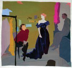 Janis Salek, fine arts design - collages
