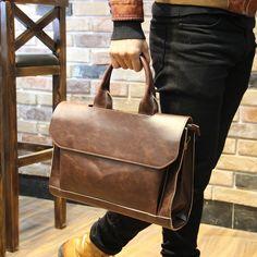 $24.00 (Buy here: https://alitems.com/g/1e8d114494ebda23ff8b16525dc3e8/?i=5&ulp=https%3A%2F%2Fwww.aliexpress.com%2Fitem%2Fstacy-bag-high-quality-brand-men-leather-handbag-male-fashion-brief-solid-handles-big-totes-shoulder%2F1790871837.html ) stacy bag high quality brand men leather handbag male fashion brief solid handles big tote shoulder bag laptop bag briefcase for just $24.00