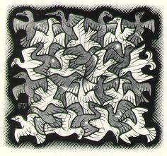 Tesselations Print Artist Mc Escher Art Gallery National