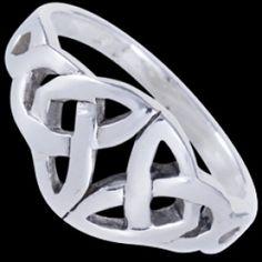 Sterling silver ring, celtic