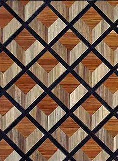Feau & Cie, boiserie, #geometric #pattern #floor