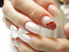rose on your finger ;)