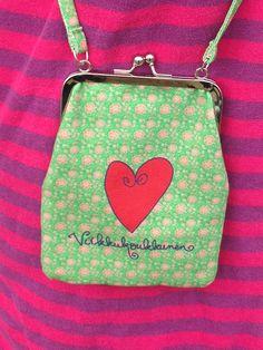 <3 Coin Purse, Wallet, Purses, Color, Fashion, Handbags, Moda, Fashion Styles, Coin Purses