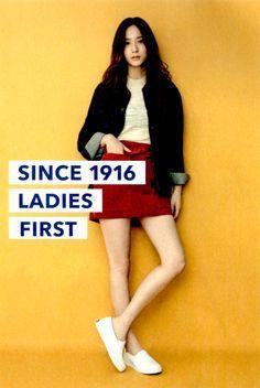 My Krystal, Krystal Jung, F Magazine, Soo Young, Keds