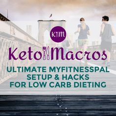 Setup MyFitnessPal for Low Carb Diet | Keto Macros