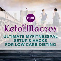 Setup MyFitnessPal for Low Carb Diet | Keto Macros