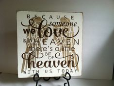 Because Someone is in Heaven. Heaven in our by TheCountryNook