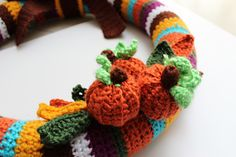 Ravelry: Fall Wreath pattern by Ana Silva - The Edible Complex