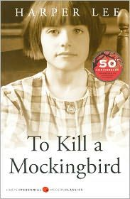 To Kill a Mockingbird by Harper Lee is one of my all-time favorite books. With strong characters and a unique point of view, this book about standing up to and overcoming prejudice is a moving read. I Love Books, Great Books, Books To Read, My Books, Amazing Books, Library Books, Harper Lee, The Big Read, To Kill A Mockingbird
