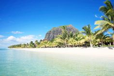 Le Morne Beach, perfect for water sport activities.