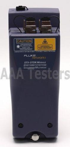 Fluke DTX-QUAD-OTDR DTX-OTDR SM MM Fiber OTDR Module 4 DTX-1800 Cable Analyzer | eBay