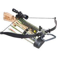 CHASE MOON 175lbs CROSSBOW PACKAGE - The best-looking, most accurate crossbows ever built! Adopting the most advanced technology and materials. The recurve limbs are made of composite fibre. #Archery