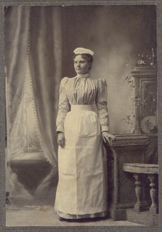 American Maid or Kitchen Servant 1900's