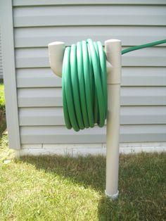 Amazon.com : Outdoor Lawn Gardening Water Hose Holder Stand : Patio, Lawn & Garden