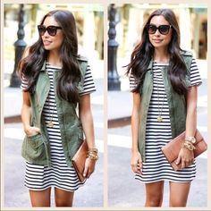 ALL SIZESCasual Striped T-Shirt Dress TRUE SIZE - Extremely Soft. This casual t-shirt dress is perfect for summer/spring or even fall with boots and a vest. Boutique Dresses