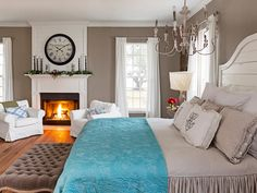 This gorgeous peaceful retreat is in the farmhouse of HGTV's #FixerUppers. #hgtvmagazine http://www.hgtv.com/design/decorating/design-101/a-fixer-upper-holiday-pictures?soc=pinterest