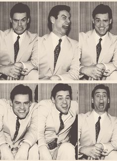 Jim Carrey...I want one of these of Charlie when we get married :)) yes different faces lol