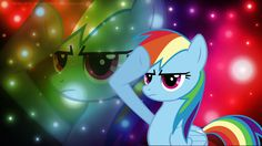 Rainbow Dash Rainbow Wallpaper
