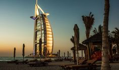Vacation, Burj Al Arab Dubai Hotel Architecture Beac Dubai Hotel, Dubai Uae, Burj Al Arab, Dubai Travel Guide, Living In Dubai, Expo 2020, Hotel Architecture, Romantic Honeymoon, Viajes