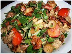 Κοτοσαλάτα με γλιστρίδα Kung Pao Chicken, Salads, Good Food, Ethnic Recipes, Salad, Clean Eating Foods, Lettuce, Eating Well, Yummy Food
