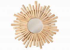 Zrkadlo na stenu RIVER SIDE II. Nástenné zrkadlá. Mirror, Furniture, Home Decor, Products, River, Handarbeit, Dekoration, Frame, Decoration Home