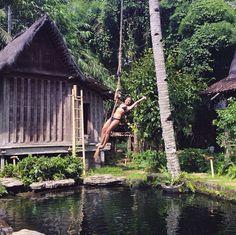 Peguyangan waterfall nusa penida bali pinterest for Unique accommodation bali