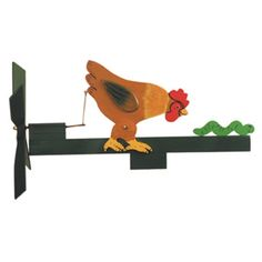 Make a whimsical Chicken & Worm whirligig from our Cherry Tree woodworking plan.  This whirligig plan gives you the full size plan, directions and paint suggestions.