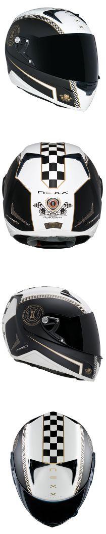 NEXX | INTEGRAL - XR1R Café Racer (White.Black) EN PROMO 189€ http://www.vintagemotoparts.fr/524-promos  en solde ... ça ne va pas durer !!!