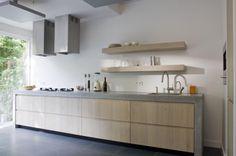 Keuken zonder bovenkast