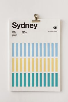 100% Design: Three Colour Cities