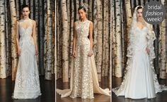 Naeem Khan Spring/Summer 2015 Wedding Dresses blog.theknot.com