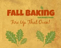 Fall Baking, favorite recipes for fall, quick breads, cakes, cookies, muffins, cornbread and more. Nutrition info, WW points, tips included.