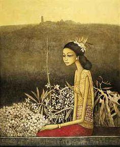 Meditation by Cheong Soo Pieng