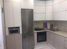 Кухни на заказ - Атмосфера French Door Refrigerator, French Doors, Kitchen Appliances, Home, Diy Kitchen Appliances, Home Appliances, Domestic Appliances, Haus, Homes