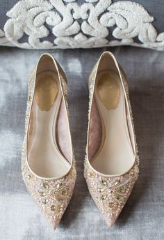 Peep toes, glitz and glam // Captured by Kate Photography