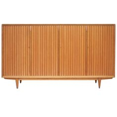 Large Mid-Century Italian Cabinet Offered by Frederick P Victoria and Son, Inc.