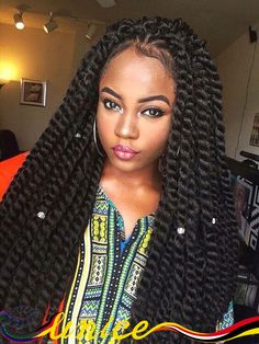 Twist Braids Hairstyles Custom 35 Beautiful Kinky Twists Styles  Pinterest  Kinky Twist Styles