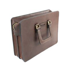 2102 top open leather briefcase - 17