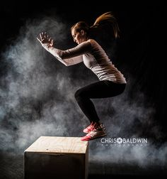 CrossFit Photography box jump