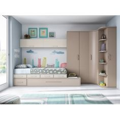 17 Stylish ways to decorate a functional nursery - Teen room Bedroom Cupboard Designs, Kids Bedroom Designs, Bedroom Bed Design, Small Room Bedroom, Kids Room Design, Home Decor Bedroom, Child's Room, Girl Room, Decoration