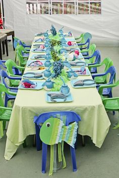 Photo 6 of 27: Under the Sea / Birthday Under the Sea - Josh turns Three!! | Catch My Party